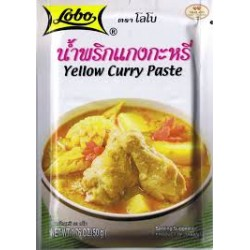 Žlutá kari pasta Lobo - 50g