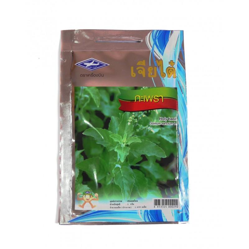 Thai Holy Basil (red) seeds